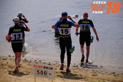 Czech Swimrun Tour - snímek ze závodu