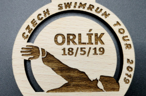 czech swimrun tour - medaile 2019