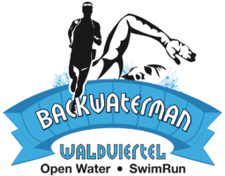 logo swimrun Backwater transparetní